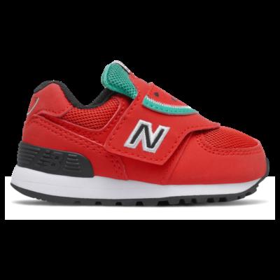 New Balance 574 Velocity Red/Emerald Sky