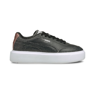 Puma Oslo Maja Cracked Sneakers Roze / Zwart / Wit 382243_02
