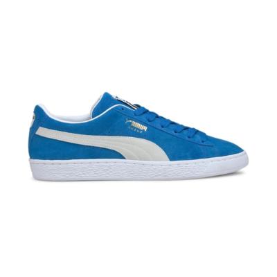 Puma Suede Teams sneakers Wit / Blauw 380168_04