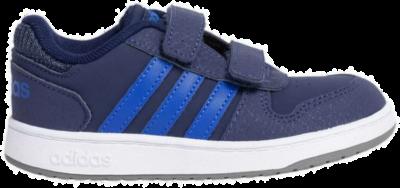 adidas HOOPS 2.0 CMF Kleinkinder Schuhe EE9001 blauw EE9001