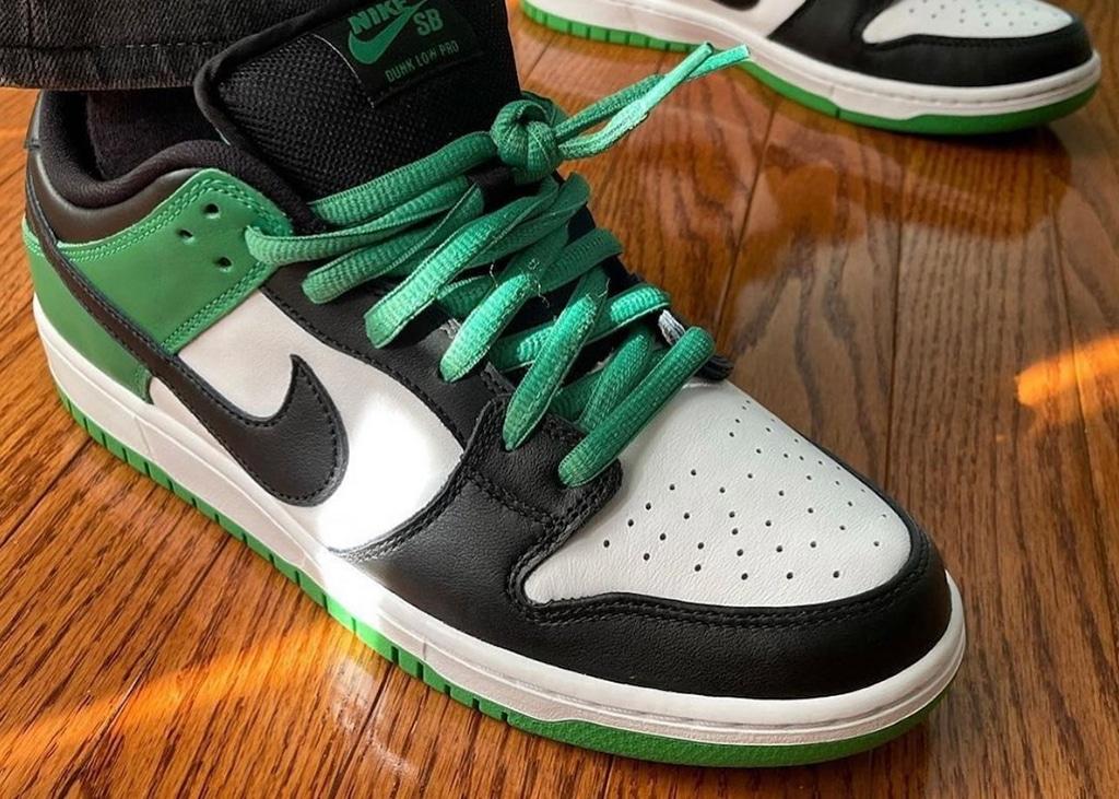 Nóg een op de Air Jordan 1 geïnspireerde Nike Dunk Low op komst