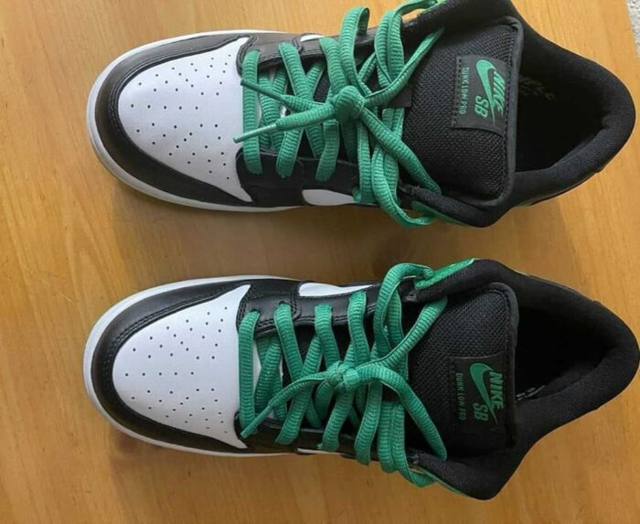 Nike dunk low green classic