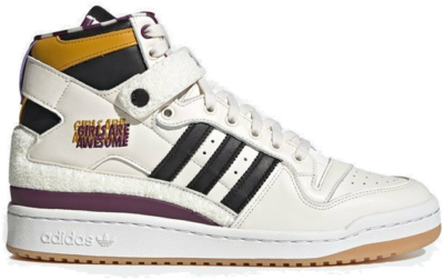 "adidas Originals GIRLS ARE AWESOME FORUM 84 HIGH ""CHALK WHITE"" GY2632"
