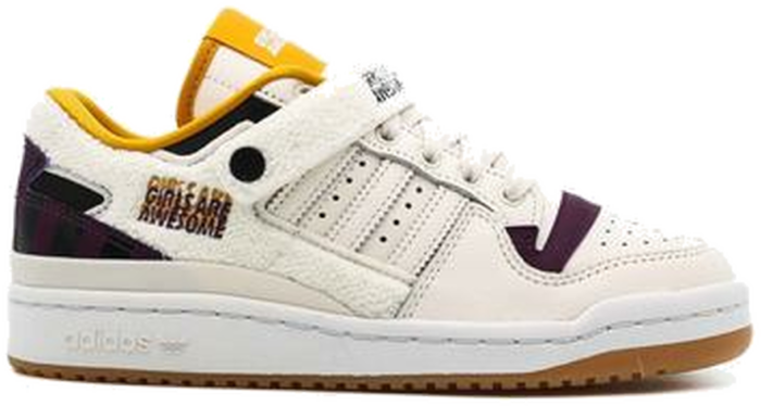 """adidas Originals GIRLS ARE AWESOME FORUM LOW W """"CHALK WHITE"""" GY2680"""