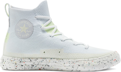 Chuck Taylor All Star Crater Knit High Top white/egret/barely volt 170368C