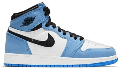 Jordan 1 Retro High White University Blue Black (GS) 575441-134