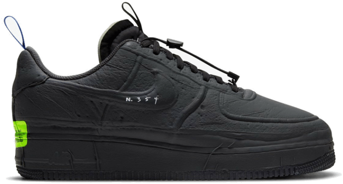 "Nike AIR FORCE 1 EXPERIMENTAL ""BLACK"" CV1754-001"