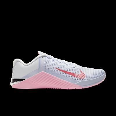 Nike Wmns Metcon 6 'Football Grey Arctic Punch' Grey AT3160-001