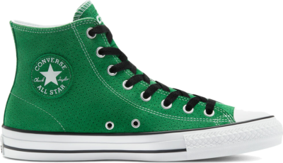 Converse CONS Perforated Suede CTAS Pro High Top Green/ Black 170065C
