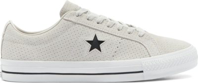 Converse CONS Perforated Suede One Star Pro Low Top Pale Putty/White/White 170072C