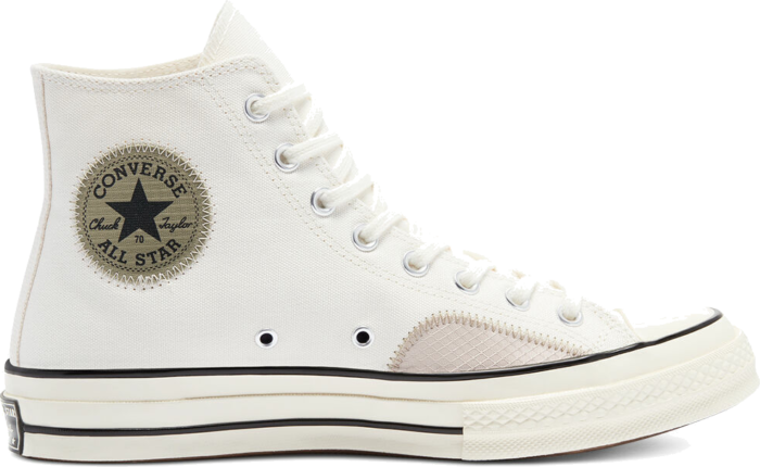 "Converse CHUCK 70 RIPSTOP AND CANVAS ""EGRET"" 170128C"