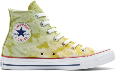 Converse Camo Chuck Taylor All Star High Top Lemon Apple Camo 171024C