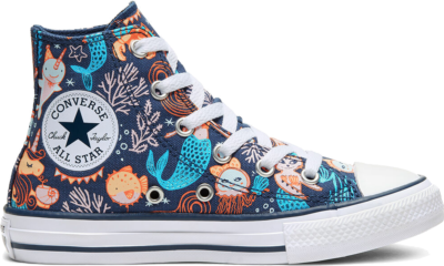Converse Underwater Party Chuck Taylor All Star High Top voor kids White 667200C