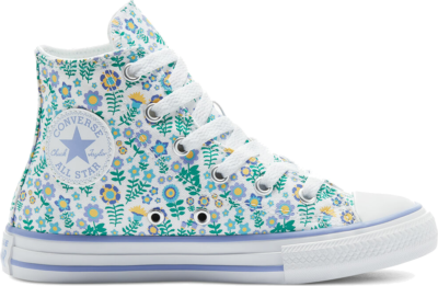 Converse Ditsy Floral Chuck Taylor All Star High Top White 670214C