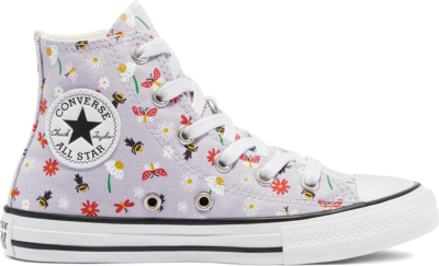 Converse Explore Nature Chuck Taylor All Star High Top Infinite Lilac/White/Black 671102C