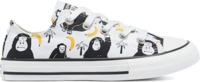 Converse Jungle Fun Chuck Taylor All Star Low Top White/Black/Yellow 671128C