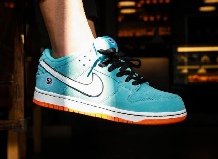 gulf swoosh le mans dunk low high