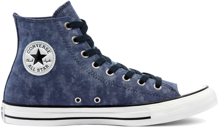 Washed Canvas Chuck Taylor All Star High Top midnight navy/midnight navy 171060C