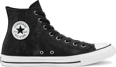 Washed Canvas Chuck Taylor All Star High Top black/black/egret 171062C