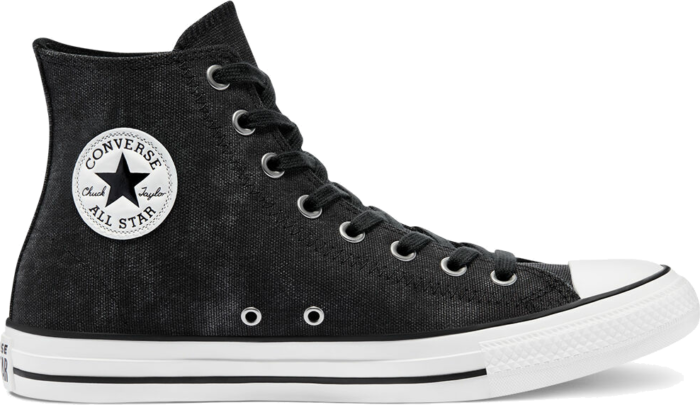 Washed Canvas Chuck Taylor All Star High Top black/black/egret 171062C beschikbaar in jouw maat