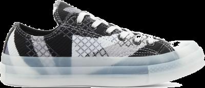 Converse Knit Mashup Chuck 70 Low Top Black/White/Gravel 570274C