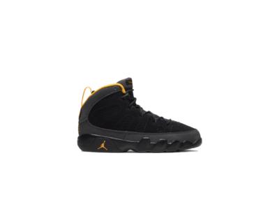 Jordan 9 Retro Dark Charcoal University Gold (PS) 401811-070