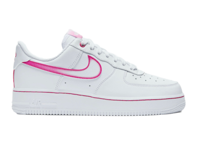 Nike Air Force 1 Low Airbrush White Pink (W) DD9683-100