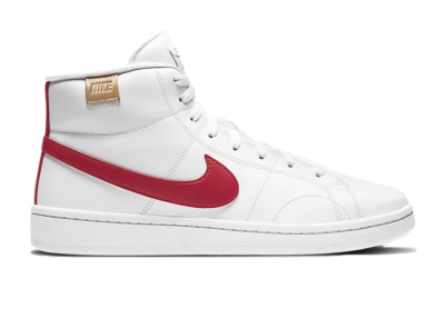 Nike Court Royale 2 Mid White University Red CQ9179-101