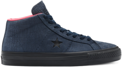 Converse Heart Of The City One Star Pro Mid Obsidian/Hyper Pink/Black 170498C