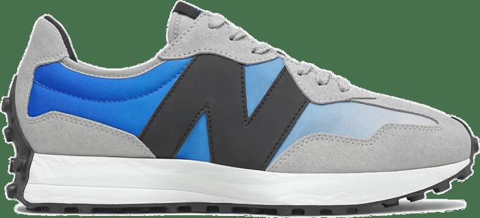Herren New Balance 327 Cobalt Blue/Light Aluminium MS327SD