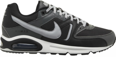 Nike nike air max command leather sneakers zwart/wit heren zwart/wit