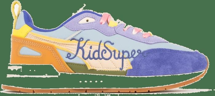 Puma x KidSuper Studios Mirage MOX-Footwear Blue / Sand / Multi 375189-01