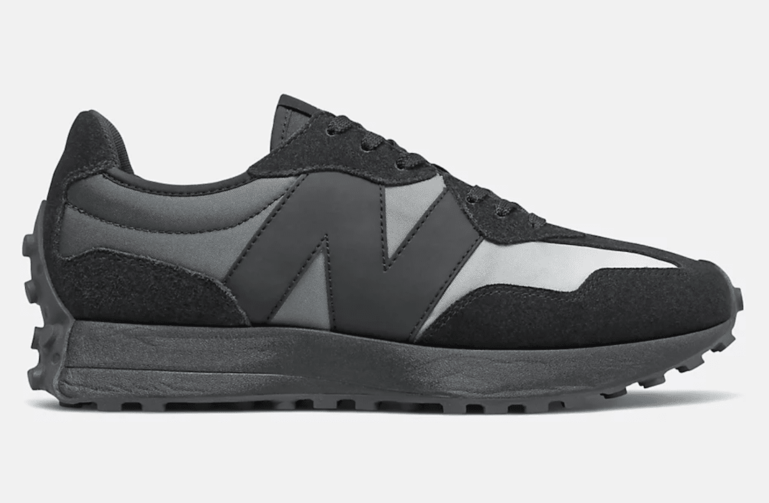 Black Summer Fog in de winter? Get ready voor de strakke New Balance 327!