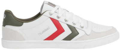 hummel SLIMMER STADIL LOW Leren sneakers 204508-9208 wit 204508-9208