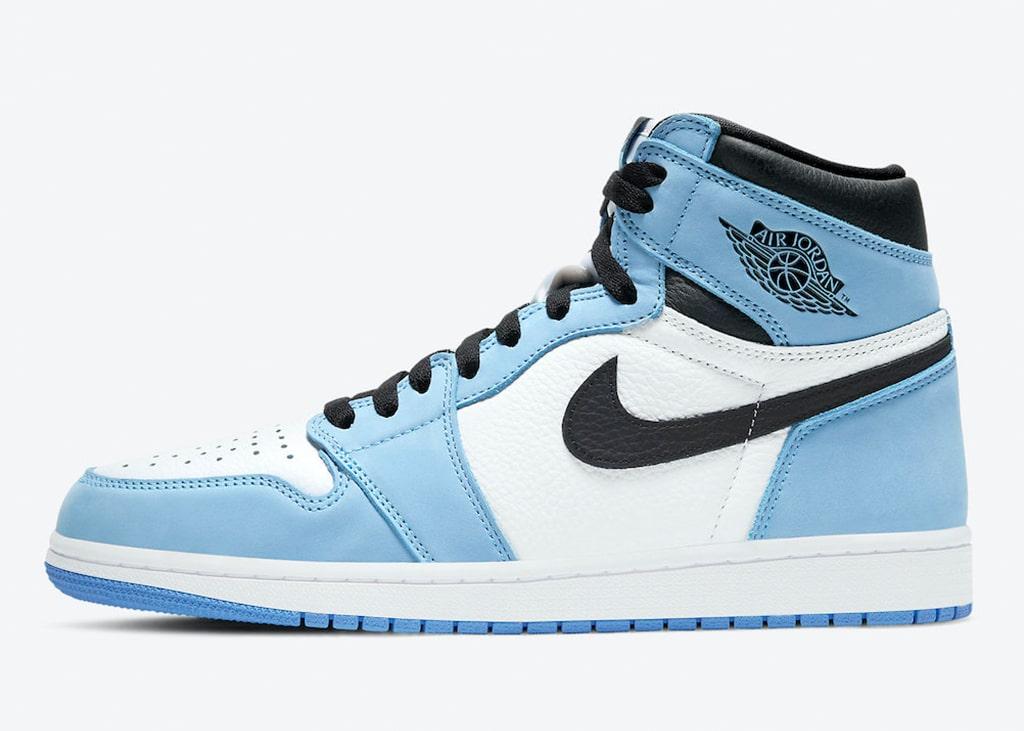 Officiële foto's uitgebracht van de Air Jordan 1 High OG University Blue