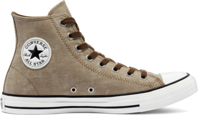 Washed Canvas Chuck Taylor All Star High Top nomad khaki/egret/terra taupe 171061C