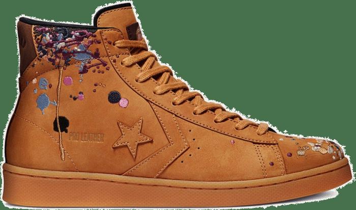Converse Pro Leather Mid x Bandulu Brown 169908C