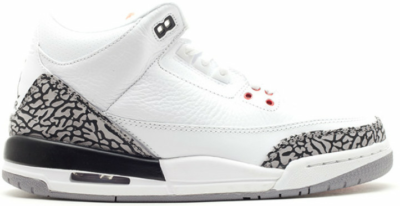 Jordan 3 Retro White Cement 2011 (GS) 398614-105
