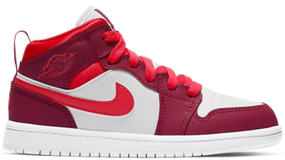 Jordan 1 Mid True Berry Rush Pink (PS) 640737-661