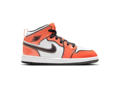 Jordan 1 Mid Turf Orange (PS) BQ6932-802
