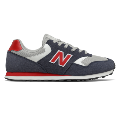 Herren New Balance 393 Outerspace/Team Red