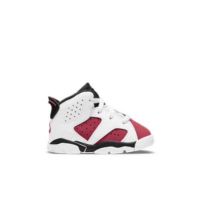 Air Jordan 6 Retro TD White/Carmine-Black Array 384667-106