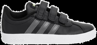 adidas VL Court 2.0 CMF Kinderen Sneakers F36387 zwart F36387