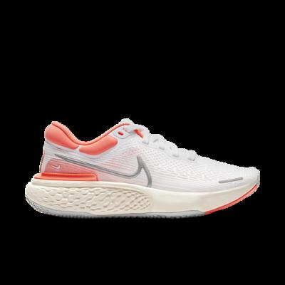 Nike Wmns ZoomX Invincible Run Flyknit 'White Bright Mango' White CT2229-100