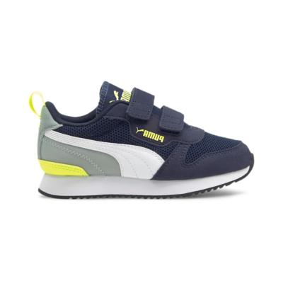 Puma R78 sportschoenen Blauw / Geel 373618_17