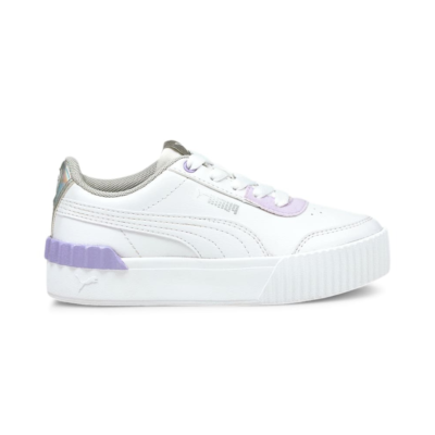 Puma Carina Lift Shine sneakers kinderen Wit 380553_01
