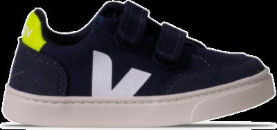 """Veja V-12 Velcro Canvas """"Marine"""" VSV012555K"""