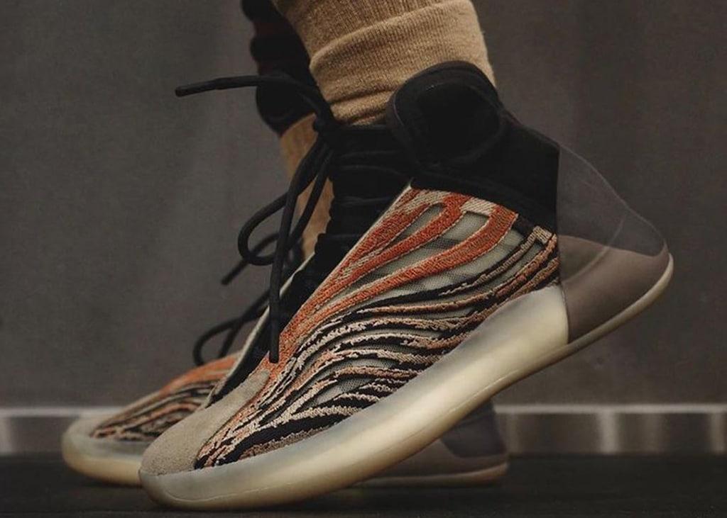 Nieuwe adidas Yeezy Quantum colorway gespot die in mei uit gaat komen