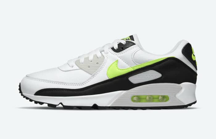 am 90 lime hot nike