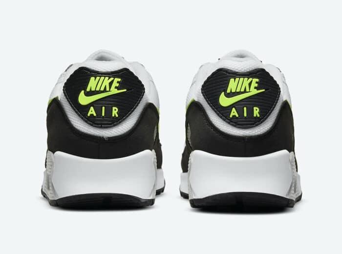 lime hot Nike Air Max 90